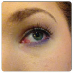 Purple-reverse smokey eye